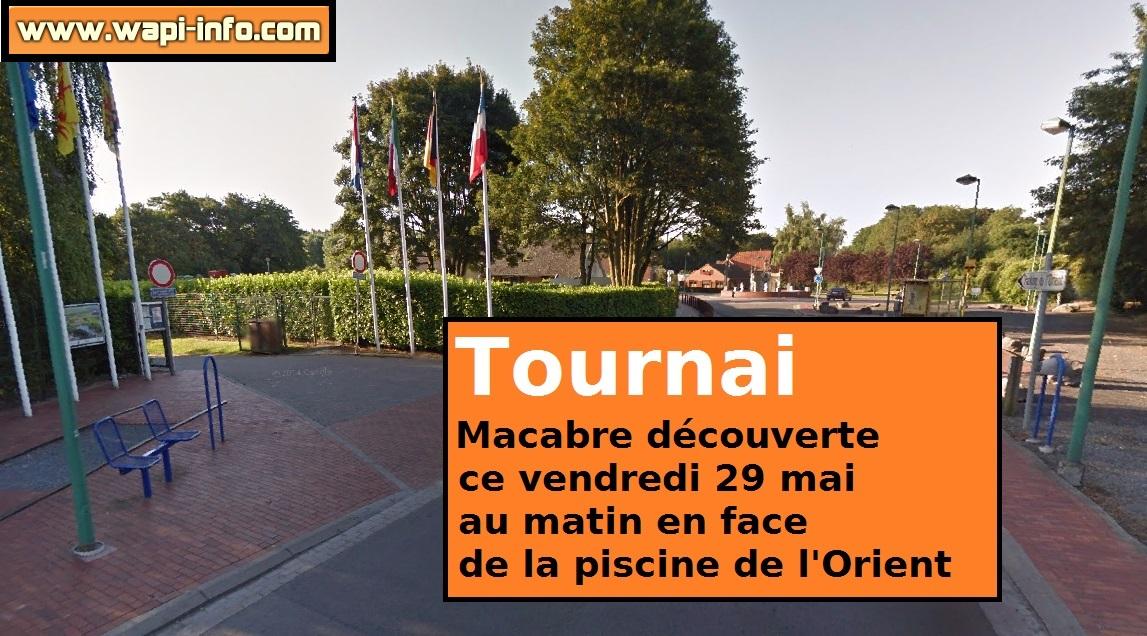 Tournai macabre d couverte sur le site de la piscine de for Bernissart piscine
